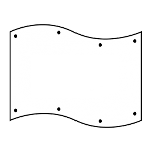 Stampa PVC BANNER striscione